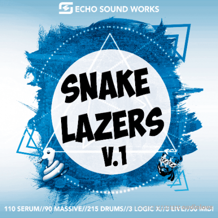 Echo Sound Works Snake Lazers V.1 MULTiFORMAT DAW Templates