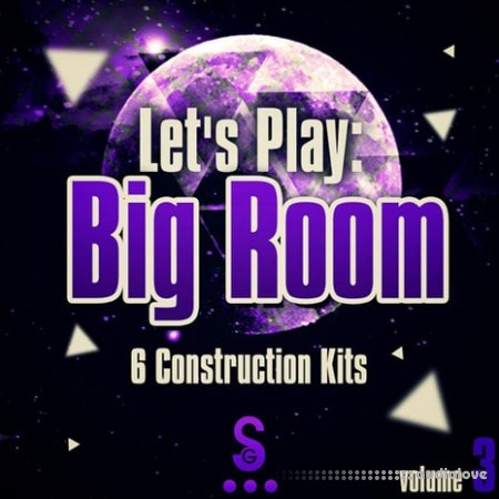 Golden Samples Lets Play Big Room Vol.3 WAV MiDi