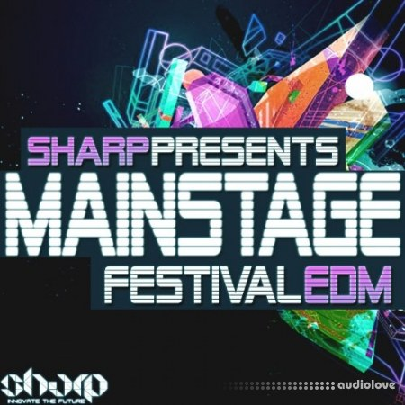 Sharp Mainstage Festival EDM WAV Synth Presets