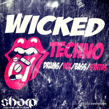 Sharp Studio Tools Wicked Techno WAV MiDi
