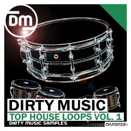 Dirty Music Top House Loops Vol.1 WAV AiFF