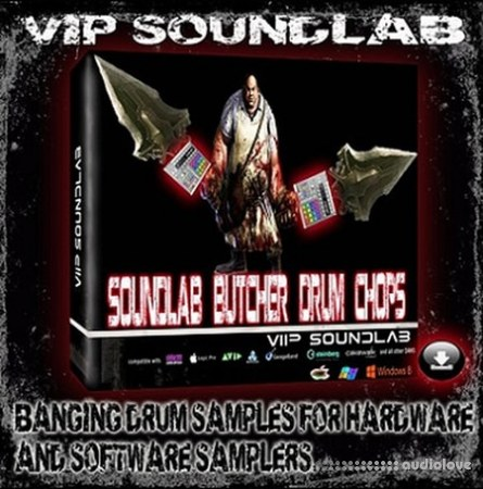Vip Soundlab Presents Butcher Drum Chops WAV