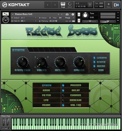 Alden Nulden Productions Reese Bass KONTAKT
