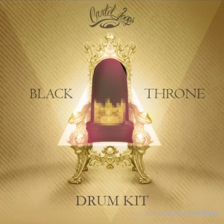 Cartel Loops Black Throne Drum Kit WAV