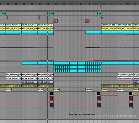 Sadowick Spire Ableton Live Project DAW Templates