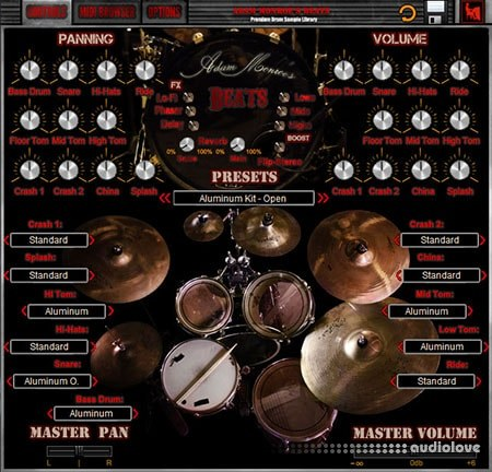 Adam Monroe Music Beats Drum KONTAKT WiN