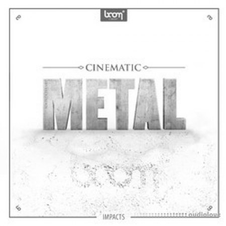BOOM Library Cinematic Metal Impacts MULTiFORMAT