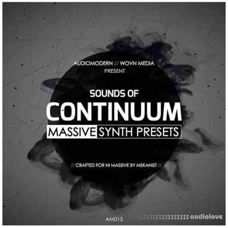 Audiomodern Continuum Synth Presets WAV