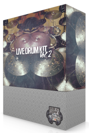 DrumKitsupply Live Drum Kit Vol.2 WAV