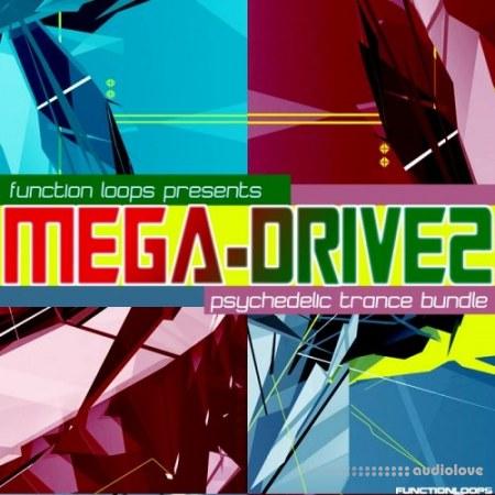 Function Loops MEGA-DRIVE 2 Psychedelic Trance Bundle WAV MiDi Synth Presets