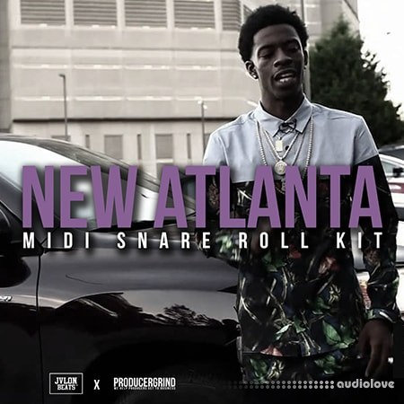 Producer Grind New Atlanta Midi Snare Roll Kit WAV MiDi