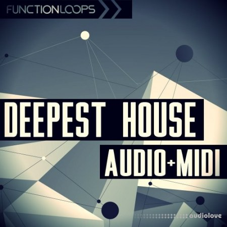 Function Loops Deepest House Audio and MIDI WAV MiDi