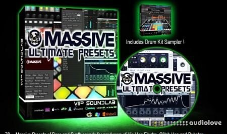 VIP SOUNDLAB Massive Presets Volume 1 WAV Synth Presets