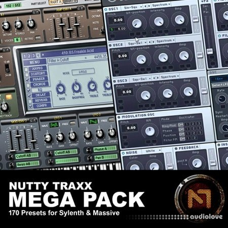 Nutty Traxx Mega Pack Synth Presets