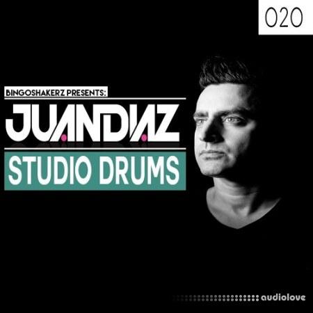 Bingoshakerz Juan Diaz Studio Drums WAV