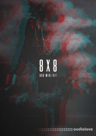 The Kit Plug 8X8 808 MIDI Loop Kit WAV MiDi