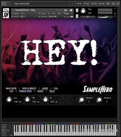 SampleHero Hey! Hey! Hey! KONTAKT