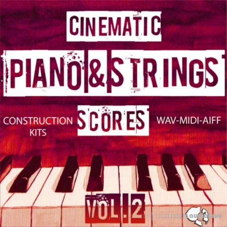 Auditory Cinematic Piano Strings Scores Vol.2 ACiD WAV AiFF MiDi