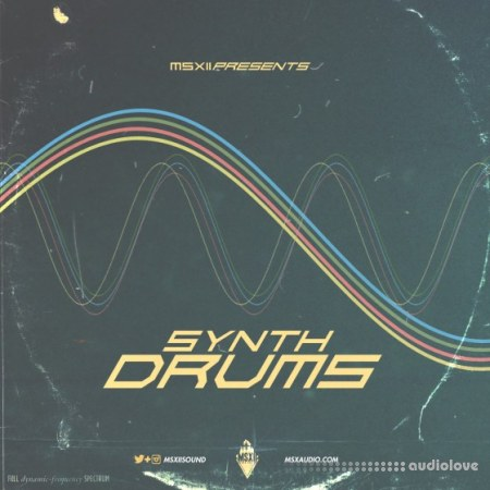 MSXII Sound Synth Drums WAV