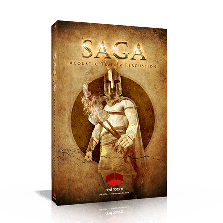 Red Room Audio Saga Acoustic Trailer Percussion KONTAKT