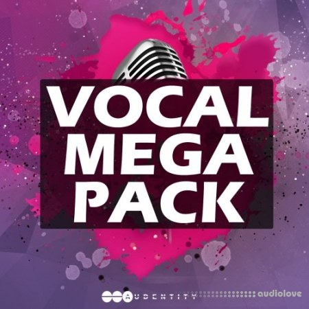 Audentity Records Vocal Megapack WAV MiDi Synth Presets