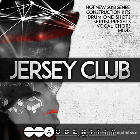 Audentity Records JERSEY CLUB WAV MiDi Synth Presets