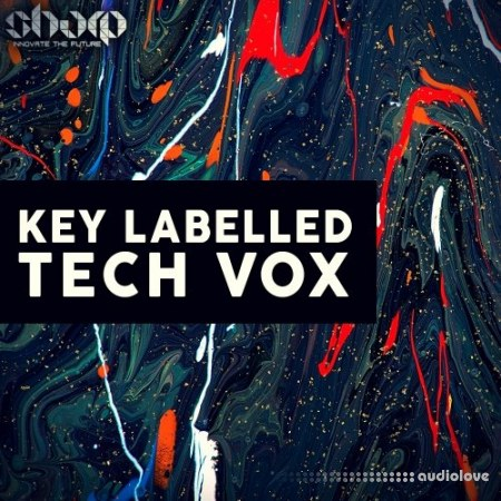 Sharp Key Labelled Tech Vox WAV