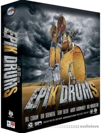 Sonic Reality EpiK DrumS Bill Cobham SE Kit KONTAKT