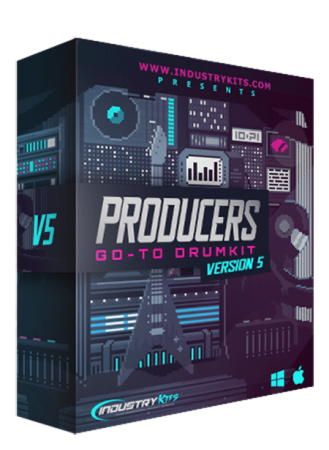 Industry Kits Producers Go To DrumKit 5 WAV