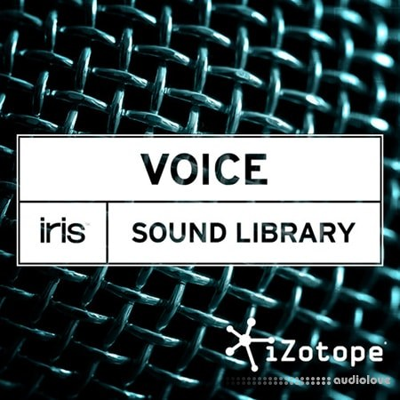 iZotope Iris Voice Sound Library Synth Presets