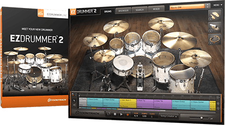 Toontrack EZdrummer 2 v2.1.6 Update / Core Library v1.1.1 Update WiN MacOSX
