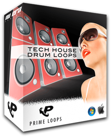 Prime Loops Tech House Drum Loops WAV
