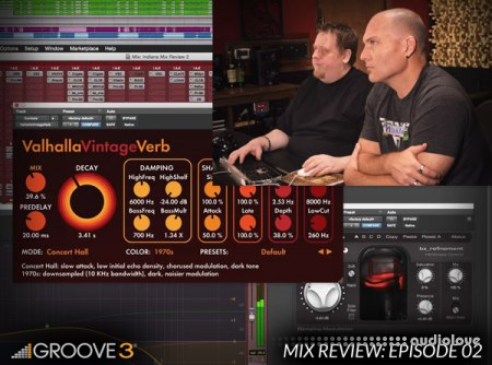 Groove3 Mix Review with Bob Horn and Erik Reichers Episode 2 TUTORiAL