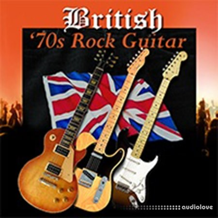 Sullystone Music British 70s Rock Guitar ACiD WAV REX AiFF