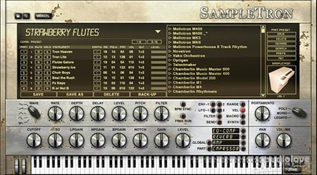 IK Multimedia SampleTron Instruments WiN