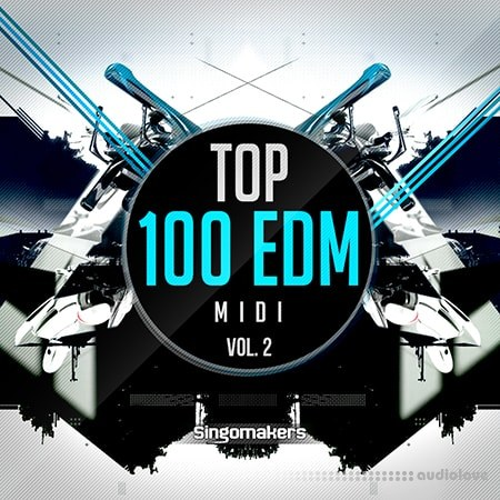 Singomakers Top 100 EDM Midi Vol.2 WAV MiDi