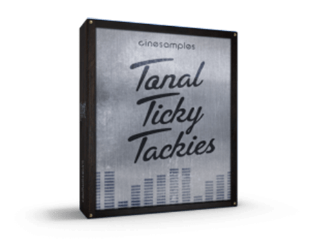 Cinesamples Tonal Ticky Tackies KONTAKT