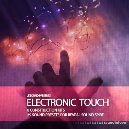 JK Sounds Electronic Touch Synth Presets WAV MiDi