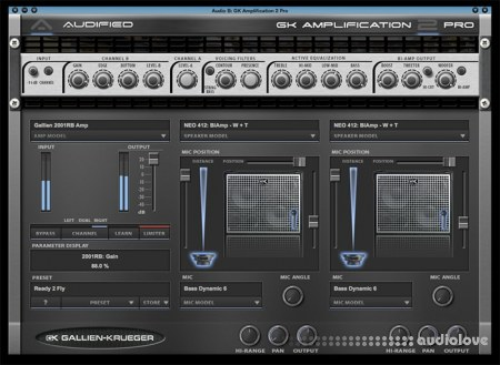 Audified GK Amplification 2 Pro v2.2.0 WiN MacOSX