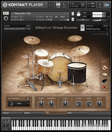 Native Instruments Abbey Road Vintage Drummer v1.3 KONTAKT