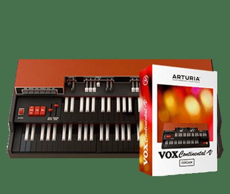 Arturia VOX Continental V2 v2.3.1.1782 CSE / v2.3.0.1391 WiN MacOSX