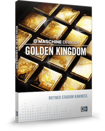 Native Instruments Maschine Expansion Golden Kingdom Maschine