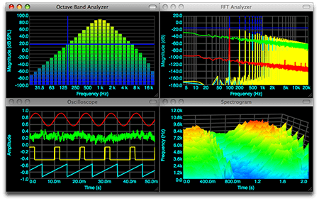 Faber Acoustical SignalScope Pro v3.8.5 MacOSX