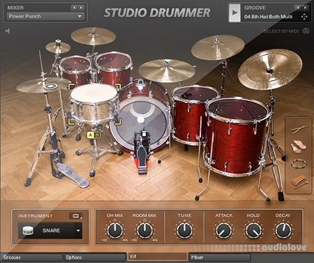 Native Instruments Studio Drummer v1.4.0 KONTAKT