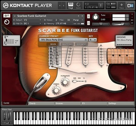 Native Instruments Scarbee Funk Guitarist v1.1.0 KONTAKT