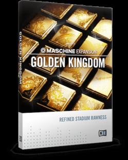 Native Instruments Maschine Expansion Golden Kingdom