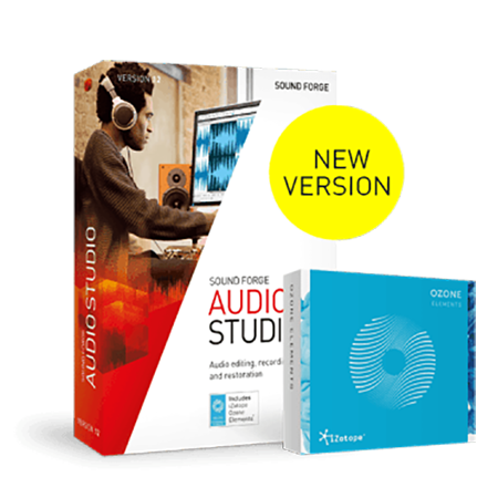 MAGIX SOUND FORGE Audio Studio v12.5.0 WiN