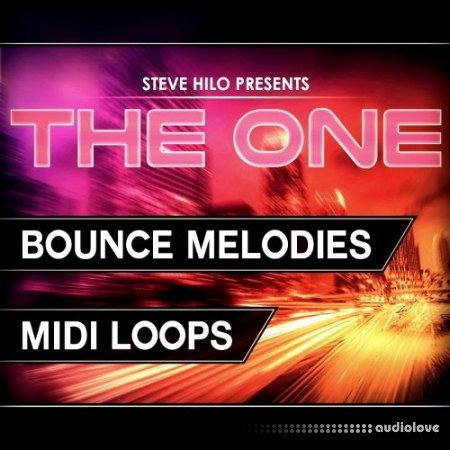 The One Bounce Melodies WAV MiDi Synth Presets