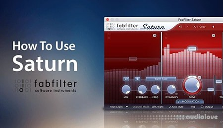 Sonic Academy How To Use FabFilter Saturn with Rory Webb TUTORiAL