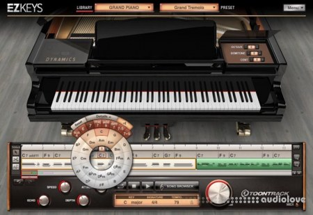 Toontrack EZkeys Player v1.2.0 WiN MacOSX